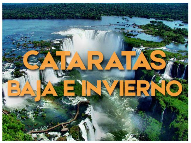 CATARATAS - TEMPORADA BAJA 2019