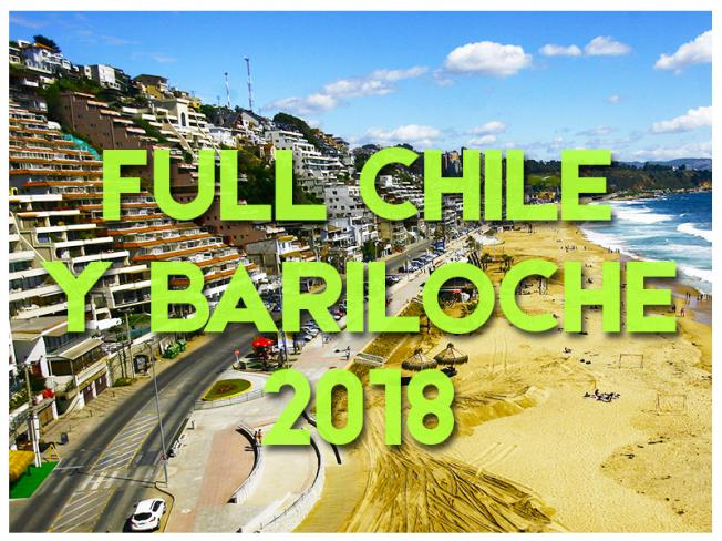FULL CHILE Y BARILOCHE - 2018