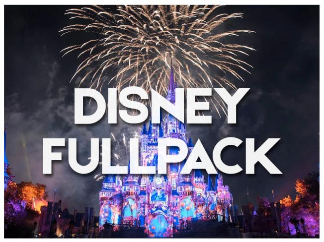 DISNEY FULL PACK - 2018/2019