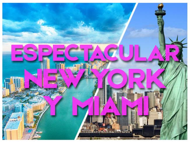 ESPECTACULAR NUEVA YORK Y MIAMI - GRUPAL 2018