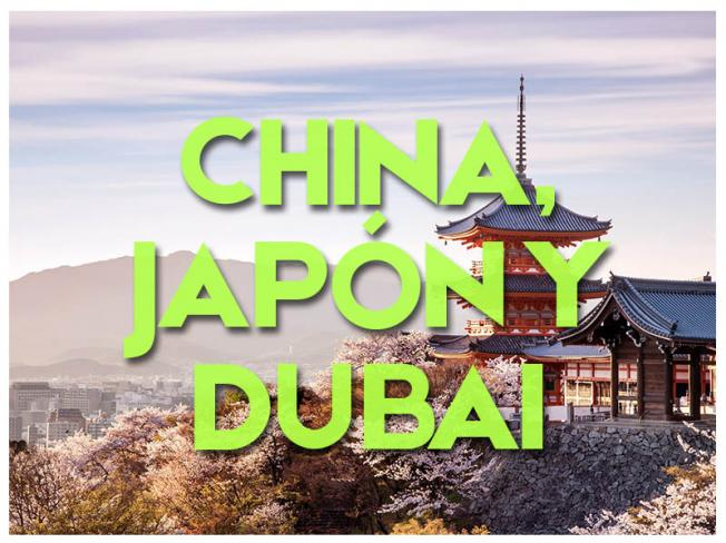 CHINA, JAPÓN Y DUBAI - GRUPAL 2018